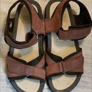 ECCO Cosmo 45 Nubuck Men's Sandals